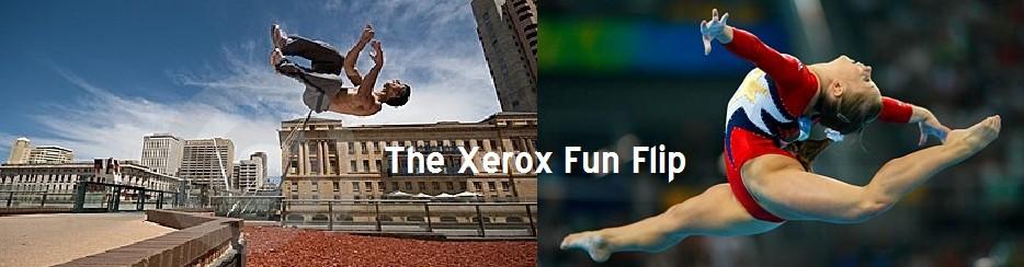 Xerox Copier Fun Flip