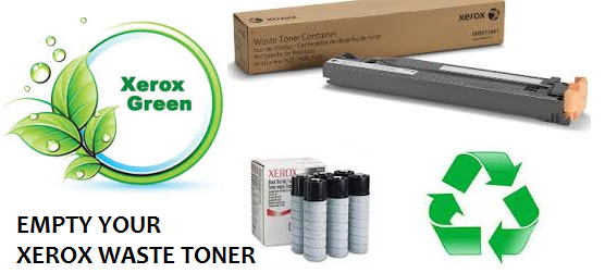 Empty Your Xerox Waste Toner Container