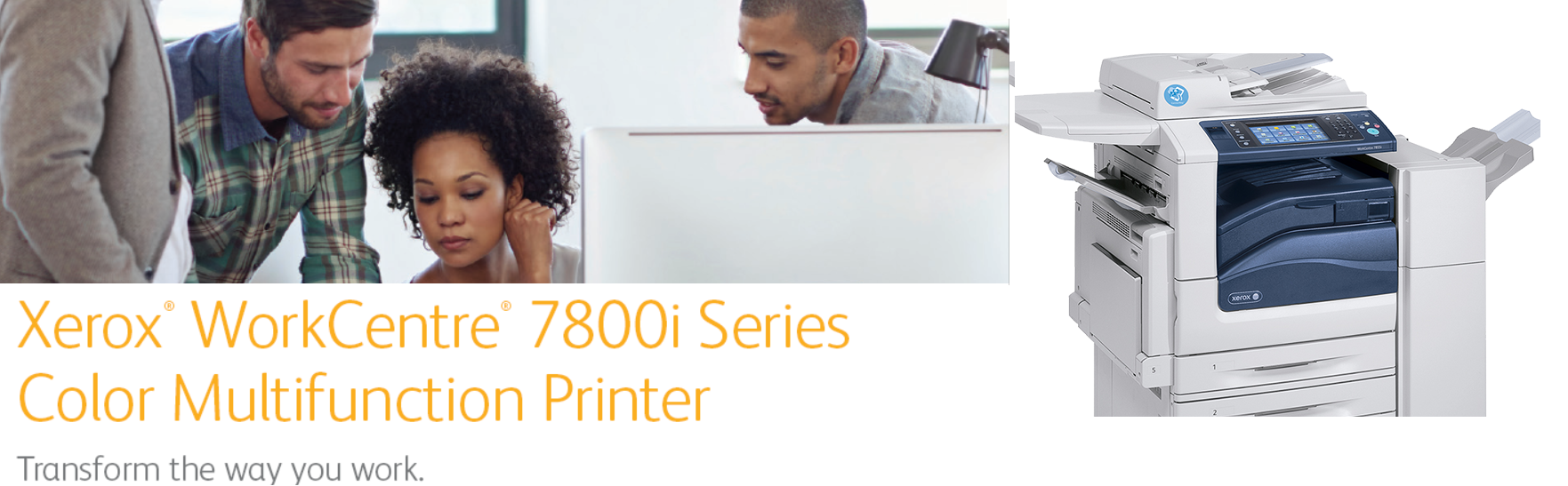 """The new Xerox WorkCentre """"i"""" Series is here."""